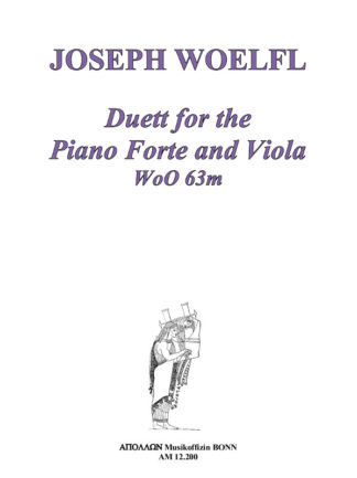 Duett for the Pianoforte & Viola WoO 63m