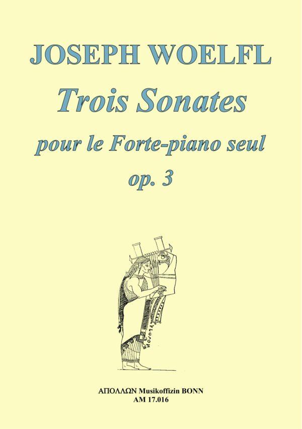 Umschlag Woelfl Sonaten Opus drei